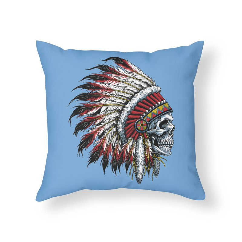 Native Instruments Home Throw Pillow by ALGS's Artist Shop