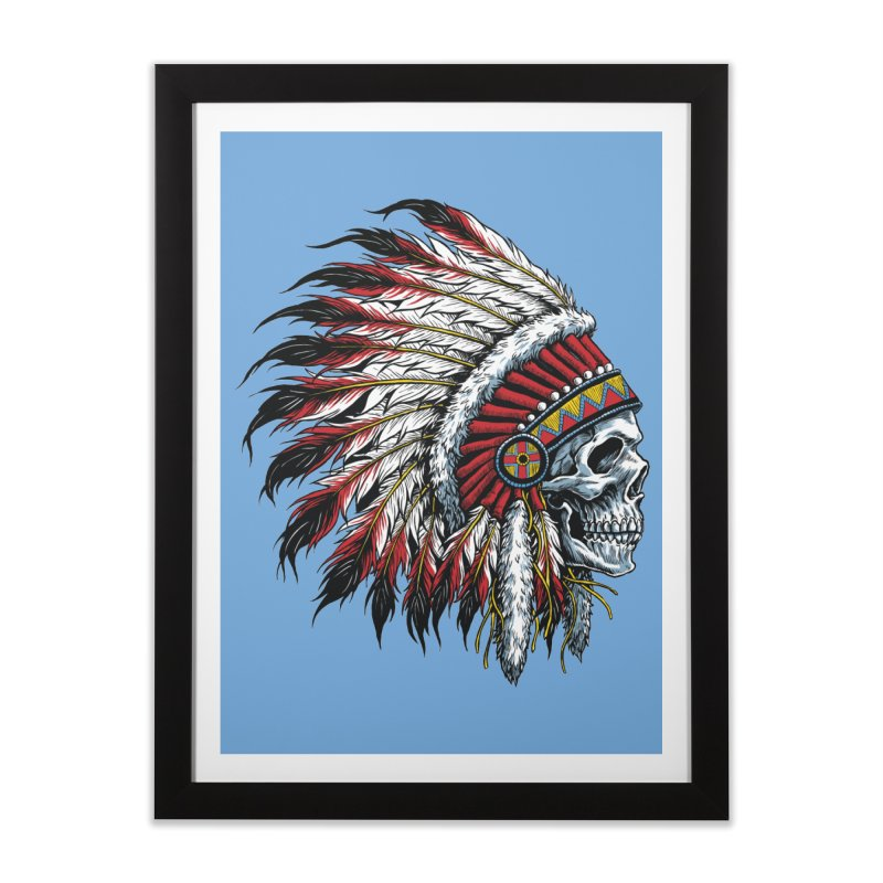 Native Instruments Home Framed Fine Art Print by ALGS's Artist Shop