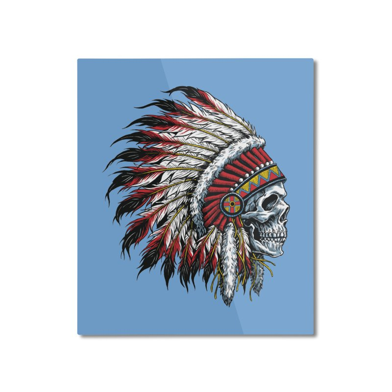Native Instruments Home Mounted Aluminum Print by ALGS's Artist Shop