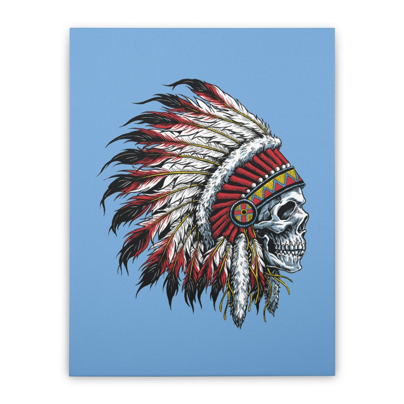 Native Instruments Home Stretched Canvas by ALGS's Artist Shop