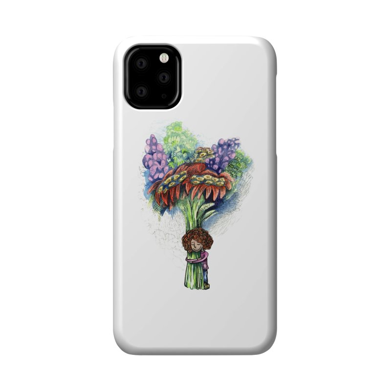 Flower Hug Accessories Phone Case by alicemdraws's Artist Shop