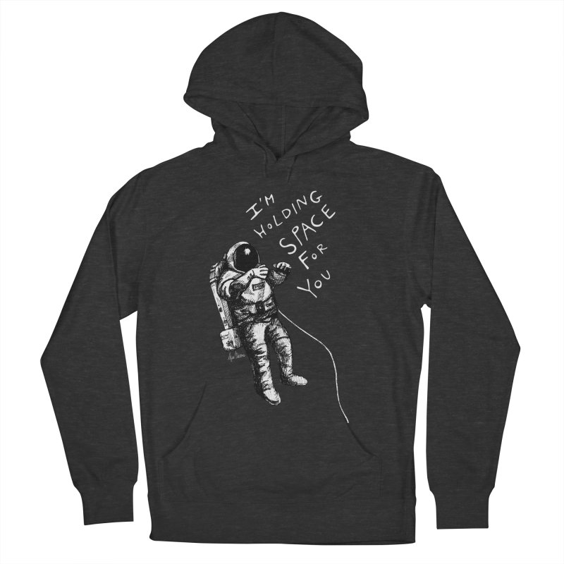 Holding Space Women's French Terry Pullover Hoody by alicemdraws's Artist Shop