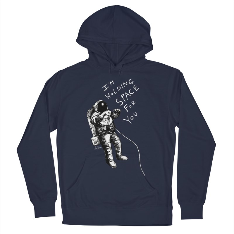 Holding Space Men's French Terry Pullover Hoody by alicemdraws's Artist Shop
