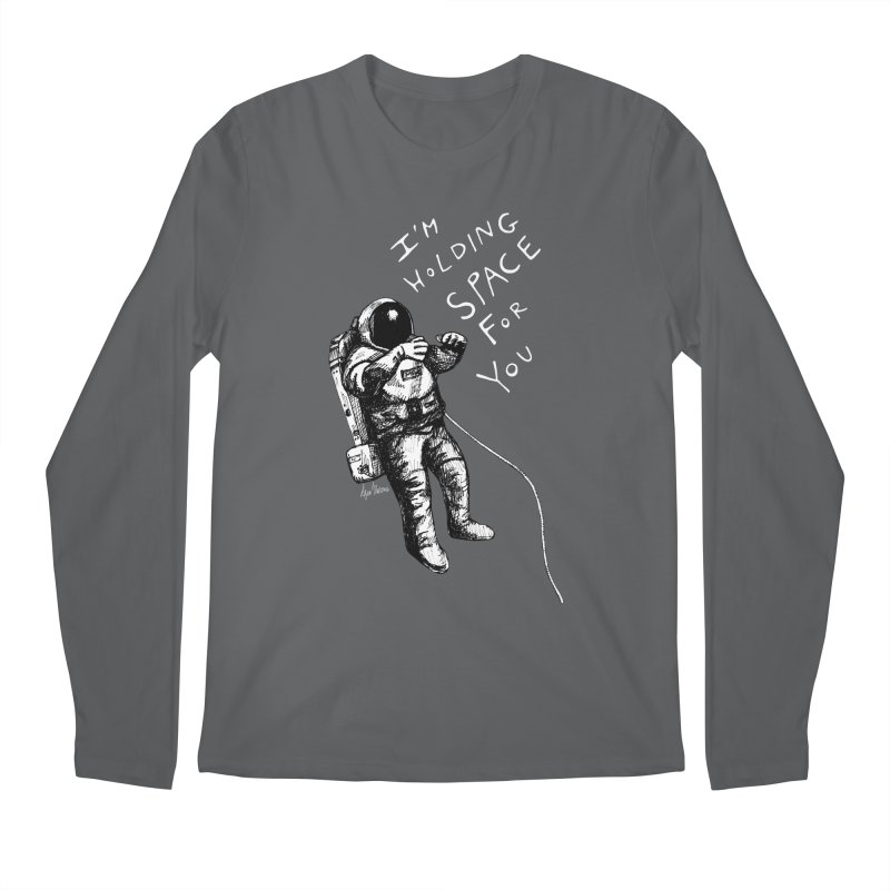 Holding Space Men's Regular Longsleeve T-Shirt by alicemdraws's Artist Shop