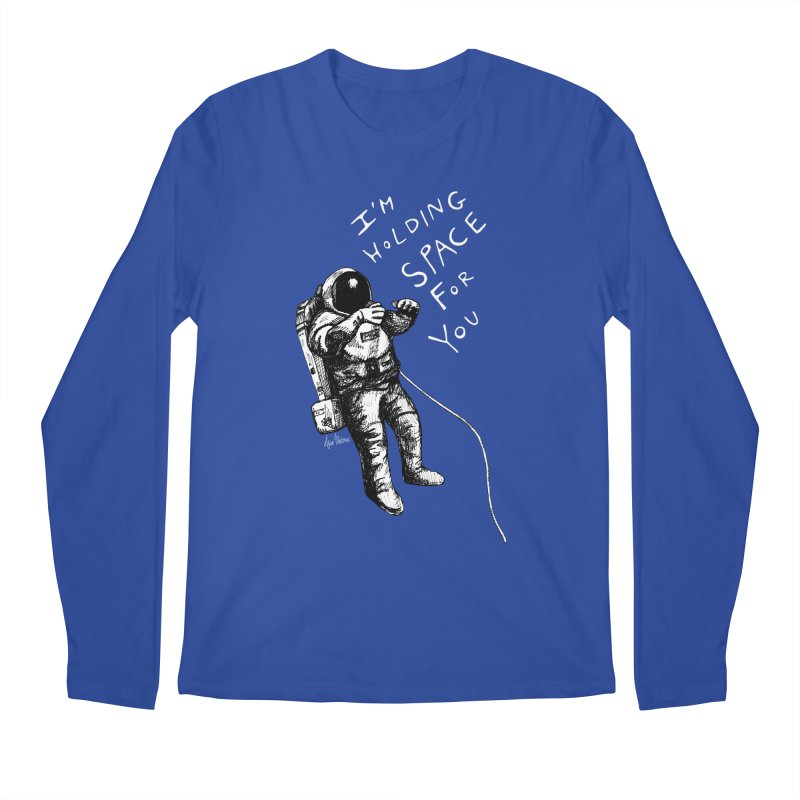 Holding Space Men's Regular Longsleeve T-Shirt by alicemdraws's Artist Shop