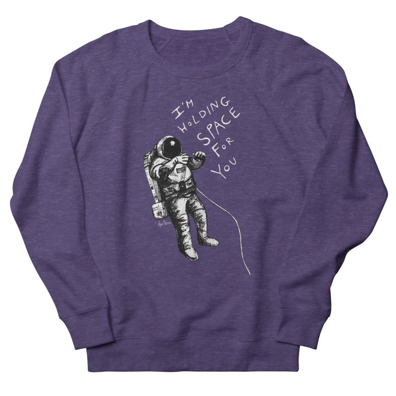 Holding Space Women's French Terry Sweatshirt by alicemdraws's Artist Shop