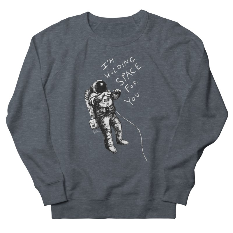 Holding Space Men's French Terry Sweatshirt by alicemdraws's Artist Shop