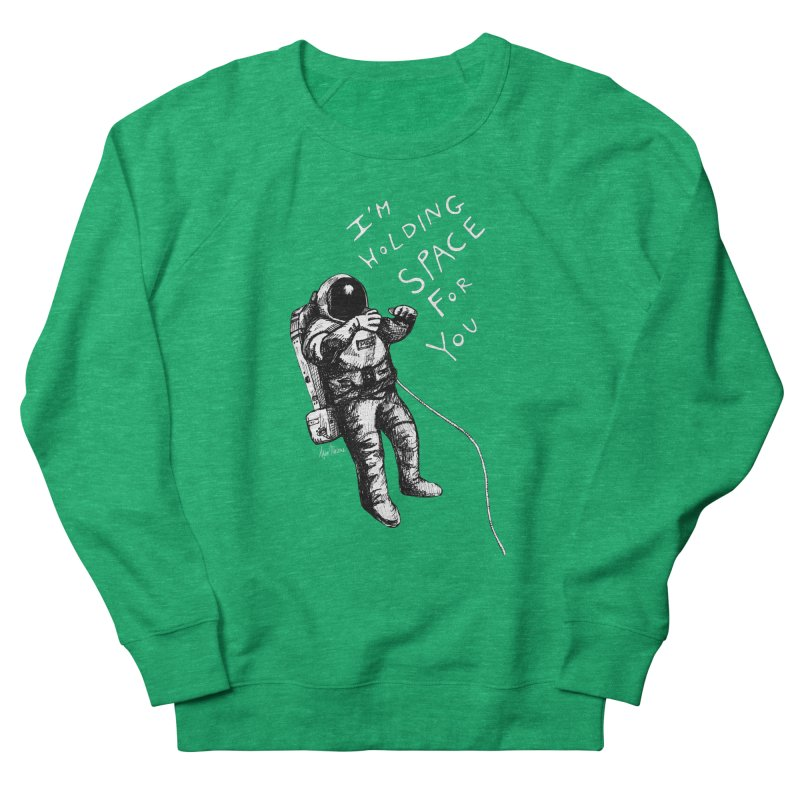 Holding Space Men's Sweatshirt by alicemdraws's Artist Shop