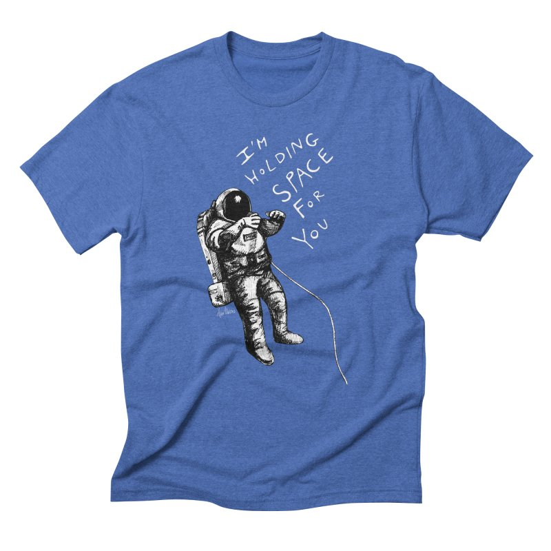Holding Space Men's Triblend T-Shirt by alicemdraws's Artist Shop