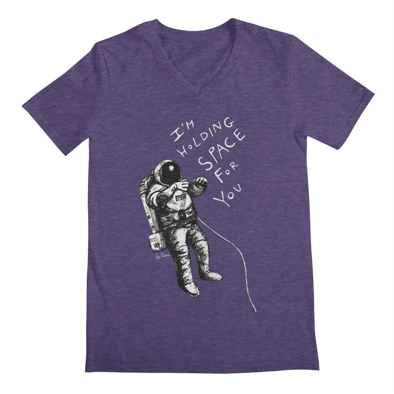 Holding Space Men's V-Neck by alicemdraws's Artist Shop
