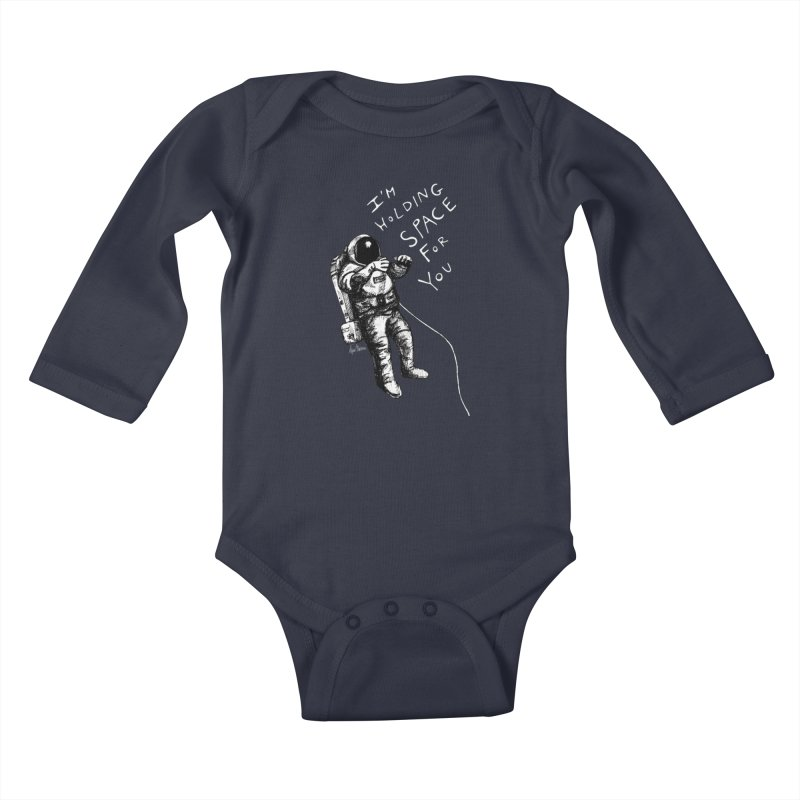 Holding Space Kids Baby Longsleeve Bodysuit by alicemdraws's Artist Shop