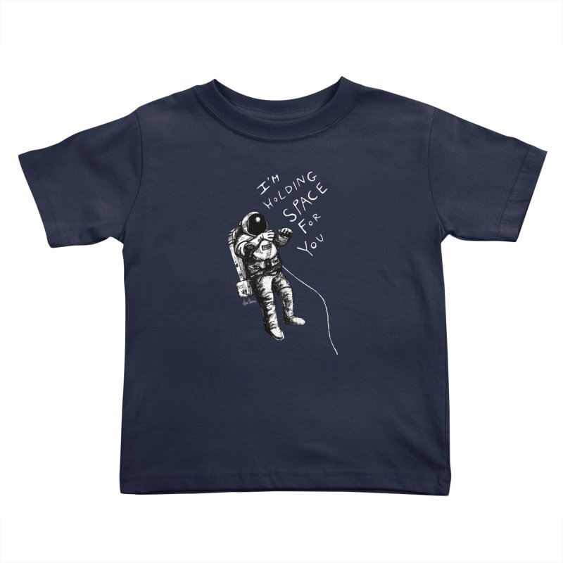 Holding Space Kids Toddler T-Shirt by alicemdraws's Artist Shop