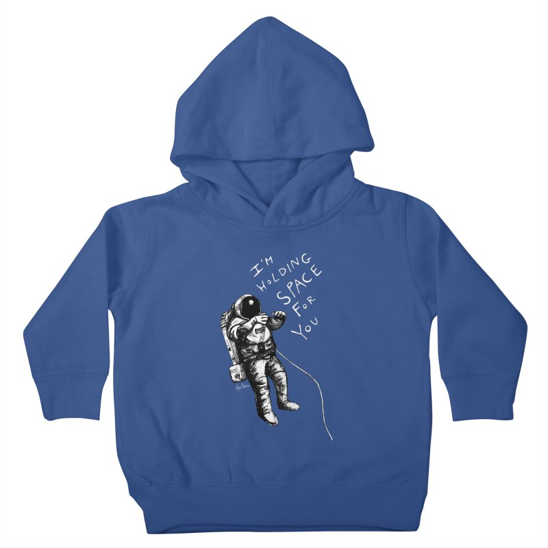 Holding Space Kids Toddler Pullover Hoody by alicemdraws's Artist Shop
