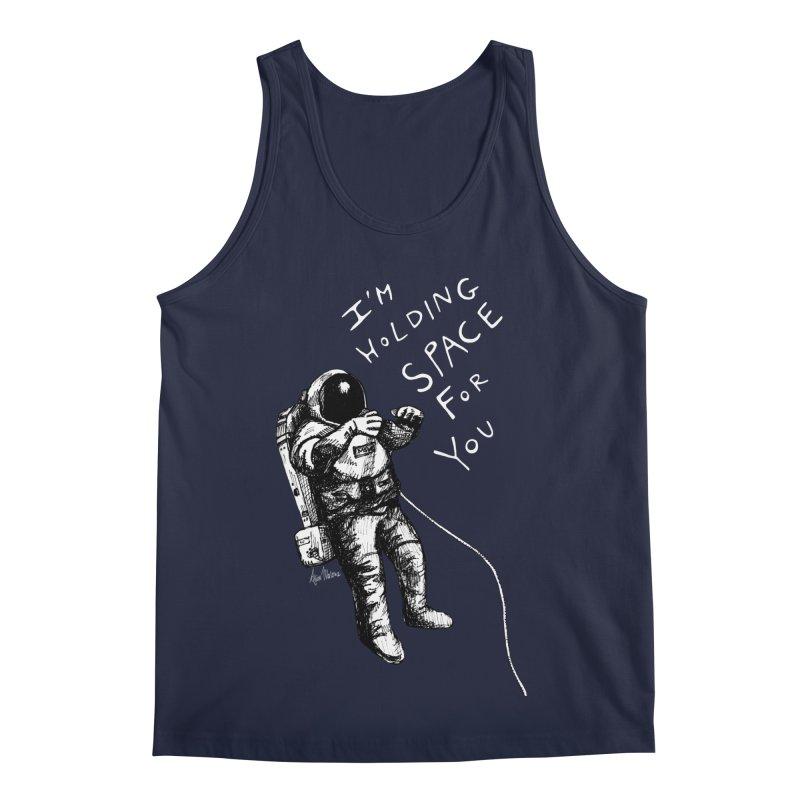 Holding Space Men's Regular Tank by alicemdraws's Artist Shop