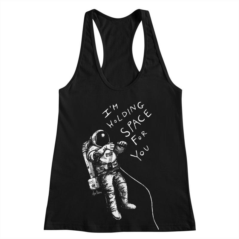Holding Space Women's Racerback Tank by alicemdraws's Artist Shop