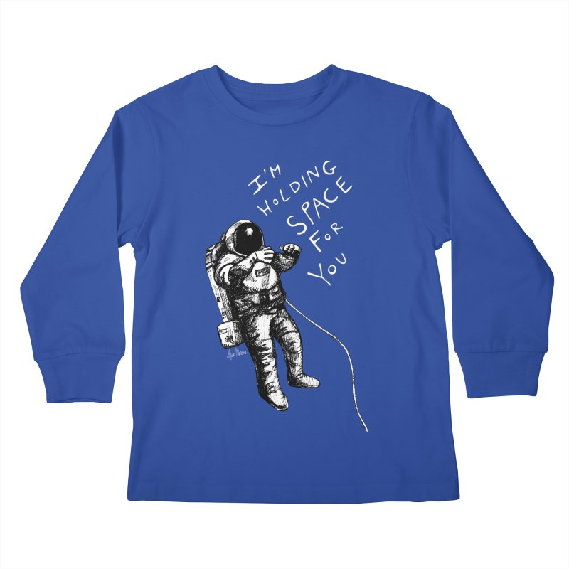 Holding Space Kids Longsleeve T-Shirt by alicemdraws's Artist Shop