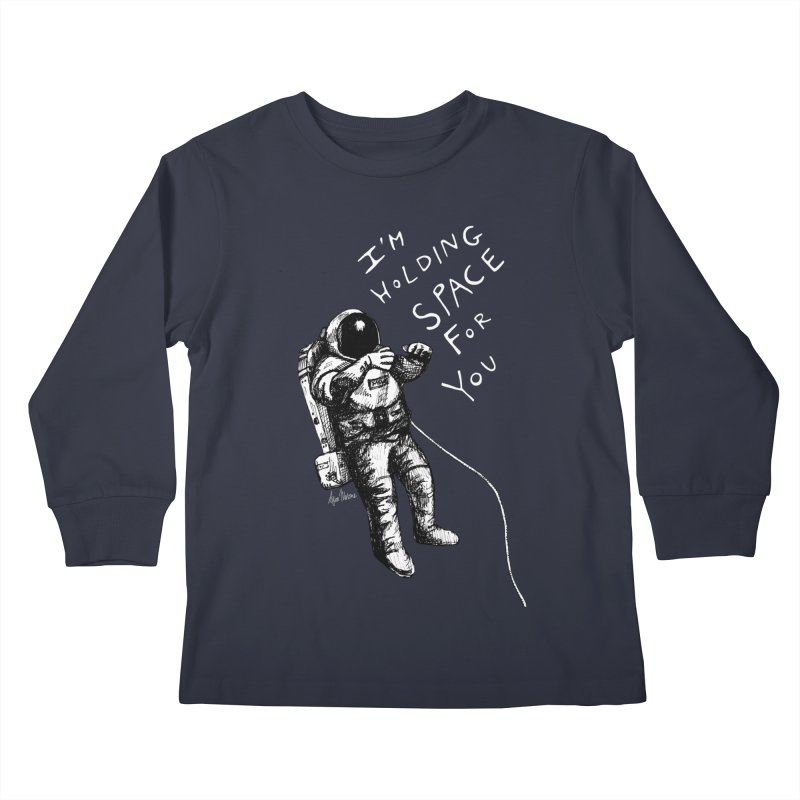 Holding Space Kids Longsleeve T-Shirt by alicemdraws's Artist Shop