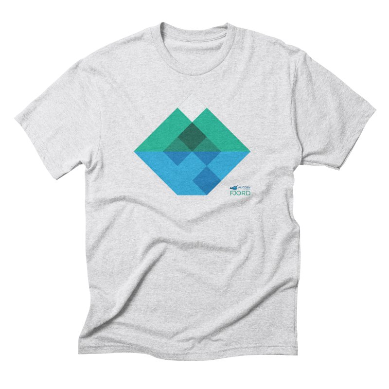 Fjord Logo Men's Triblend T-Shirt by The Alicorn Apparel Shop