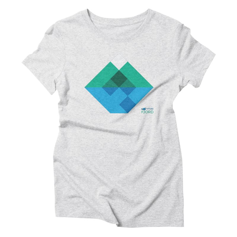 Fjord Logo Women's Triblend T-Shirt by The Alicorn Apparel Shop