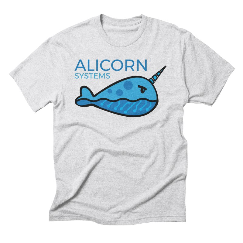 Alicorn Logo Men's Triblend T-Shirt by The Alicorn Apparel Shop