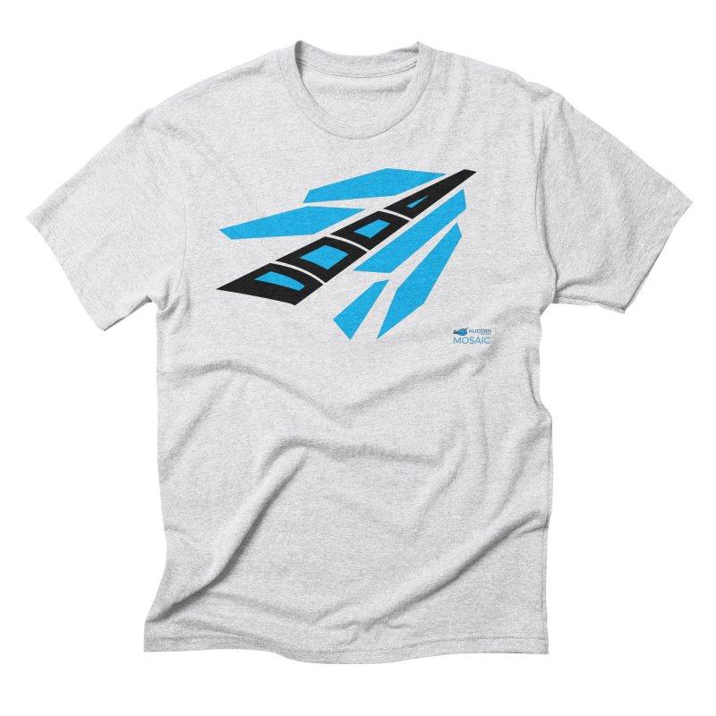 Mosaic Logo Men's Triblend T-Shirt by The Alicorn Apparel Shop