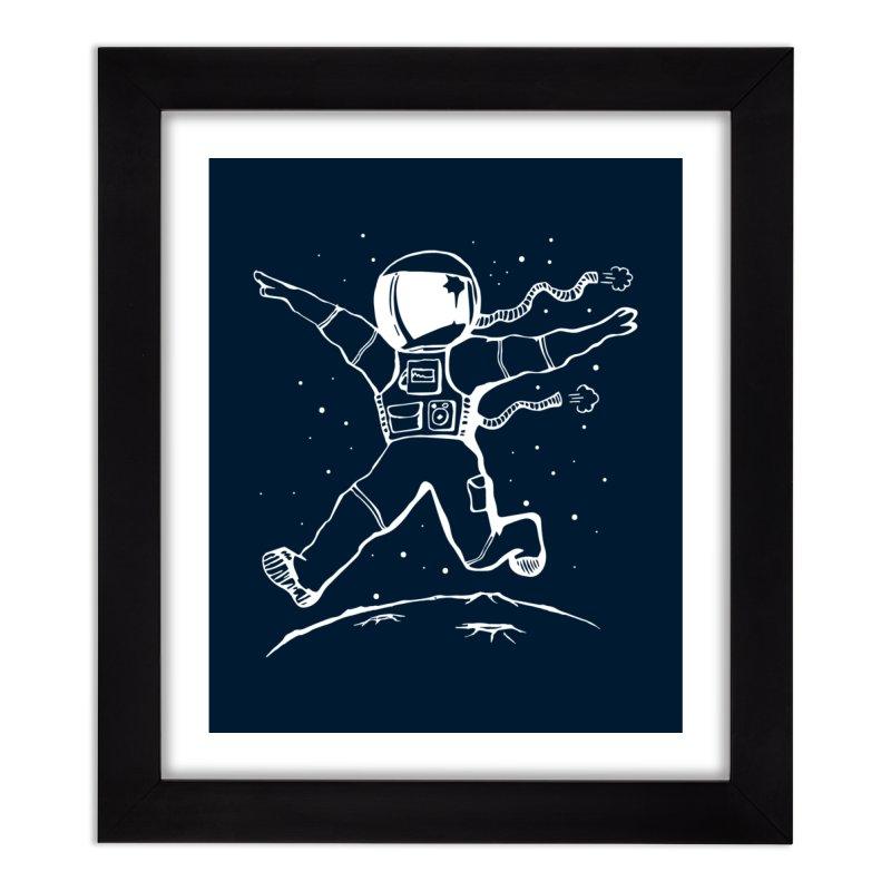 Space Cadet Home Framed Fine Art Print by alienmuffin's Artist Shop