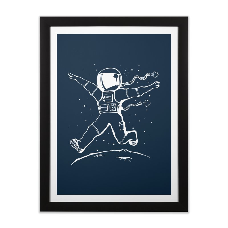 Space Cadet Home Framed Fine Art Print by alienmuffin's Artist Shop