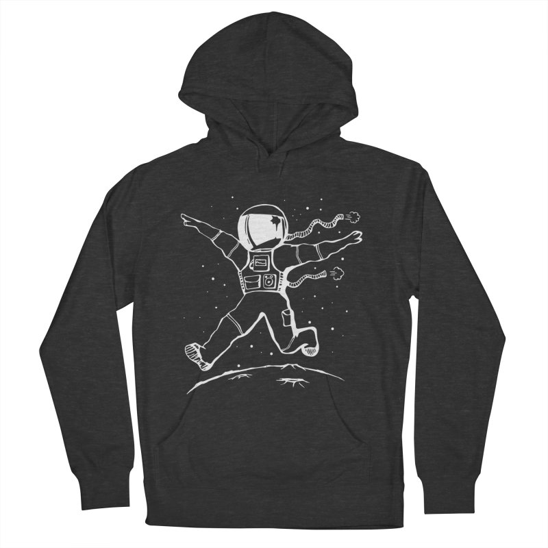 Space Cadet in Men's French Terry Pullover Hoody Smoke by alienmuffin's Artist Shop