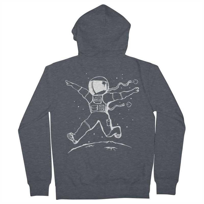 Space Cadet Men's French Terry Zip-Up Hoody by alienmuffin's Artist Shop