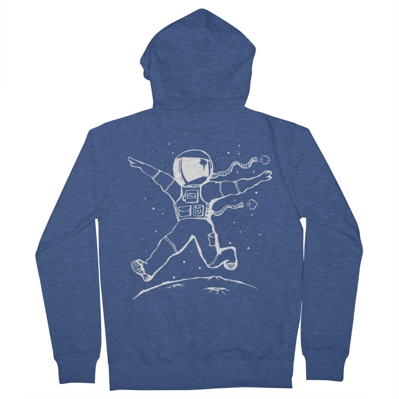 Space Cadet Men's Zip-Up Hoody by alienmuffin's Artist Shop