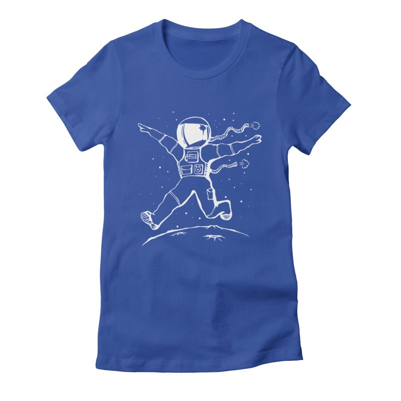 Space Cadet Women's Fitted T-Shirt by alienmuffin's Artist Shop