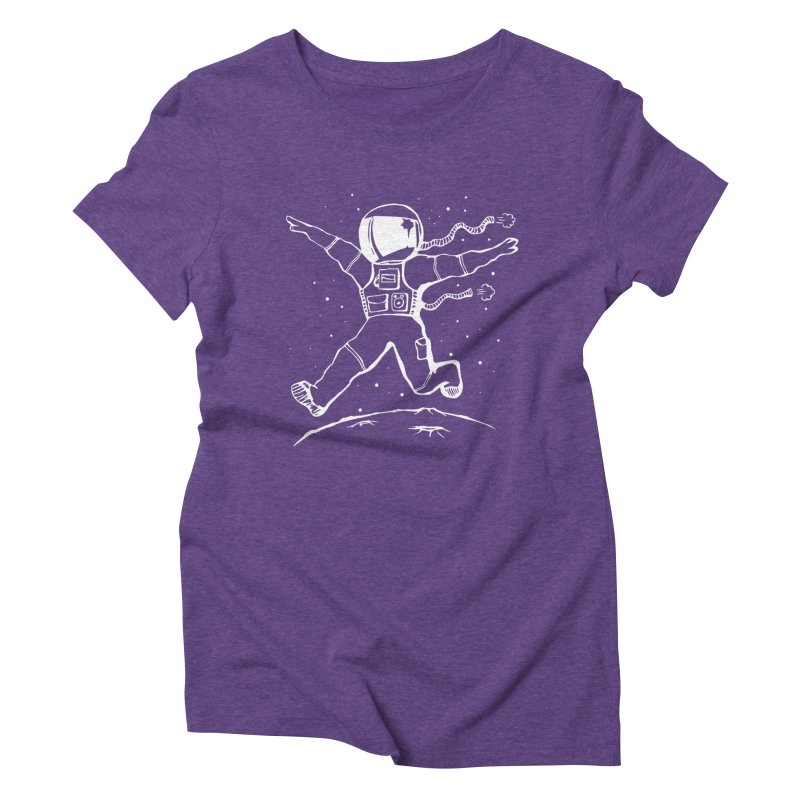 Space Cadet Women's Triblend T-Shirt by alienmuffin's Artist Shop