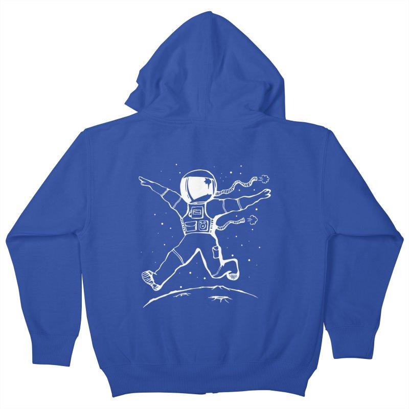 Space Cadet Kids Zip-Up Hoody by alienmuffin's Artist Shop