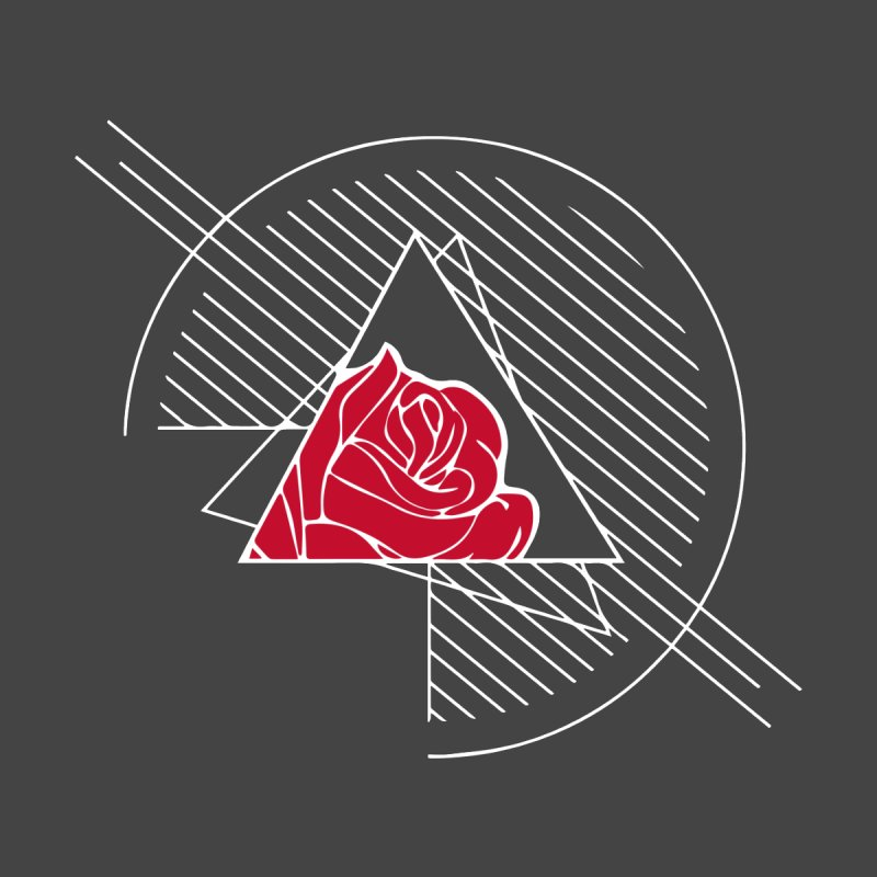 Roses Are Red Men's Longsleeve T-Shirt by alienmuffin's Artist Shop