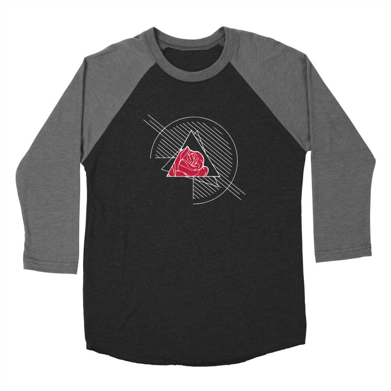 Roses Are Red Men's Baseball Triblend Longsleeve T-Shirt by alienmuffin's Artist Shop
