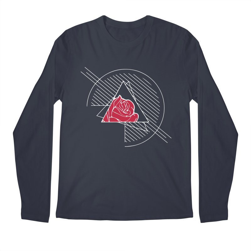 Roses Are Red Men's Regular Longsleeve T-Shirt by alienmuffin's Artist Shop