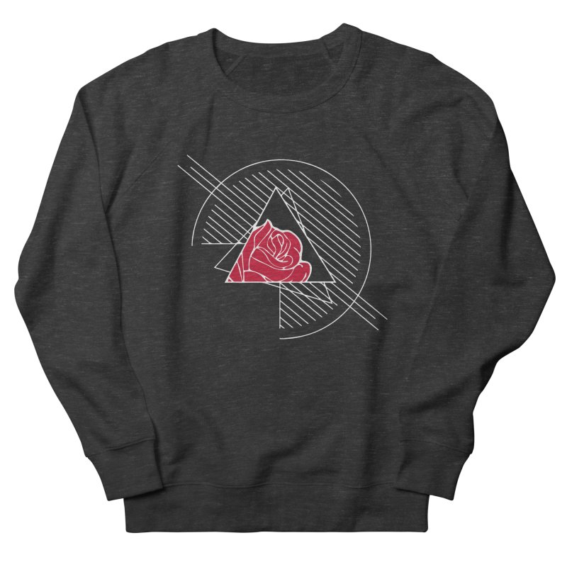 Roses Are Red Women's French Terry Sweatshirt by alienmuffin's Artist Shop