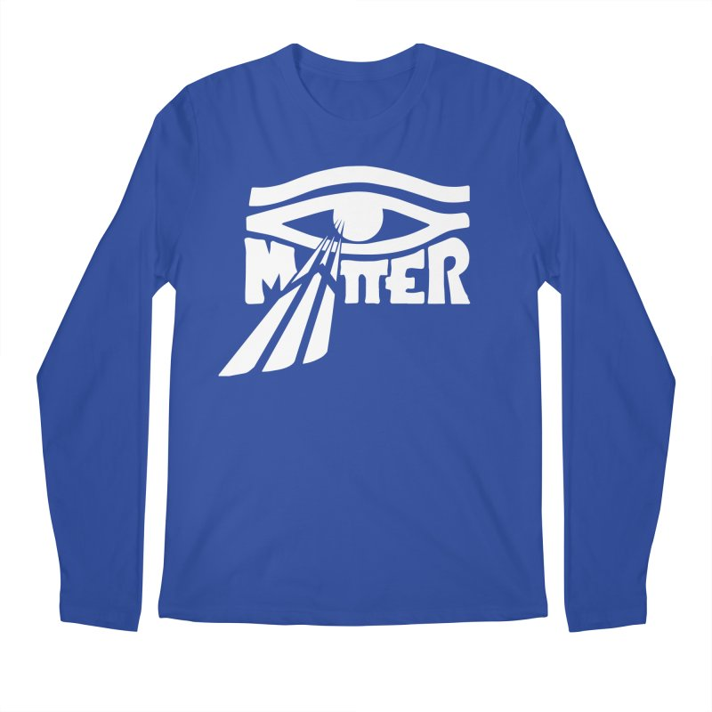 I Matter in Men's Regular Longsleeve T-Shirt Royal Blue by alienmuffin's Artist Shop