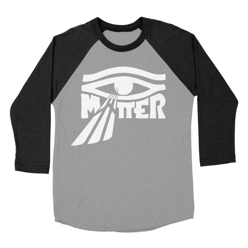 I Matter Men's Baseball Triblend Longsleeve T-Shirt by alienmuffin's Artist Shop