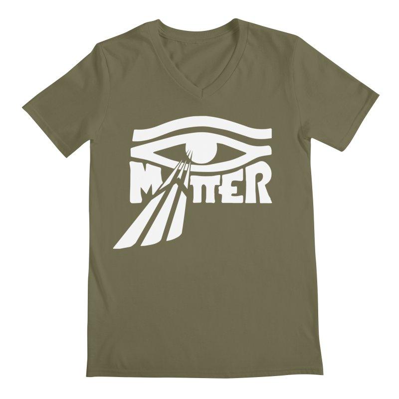 I Matter Men's Regular V-Neck by alienmuffin's Artist Shop
