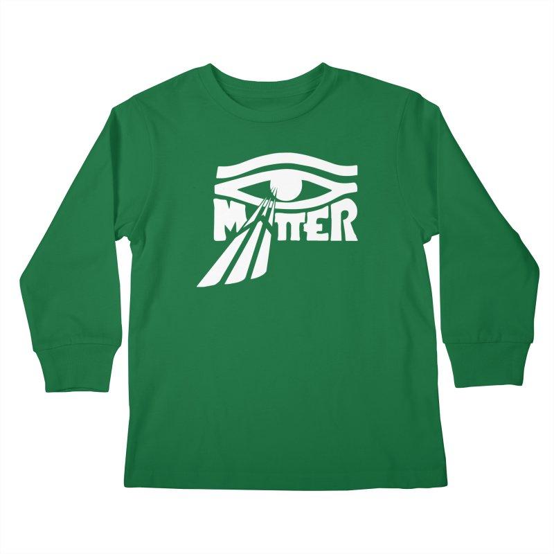 I Matter Kids Longsleeve T-Shirt by alienmuffin's Artist Shop