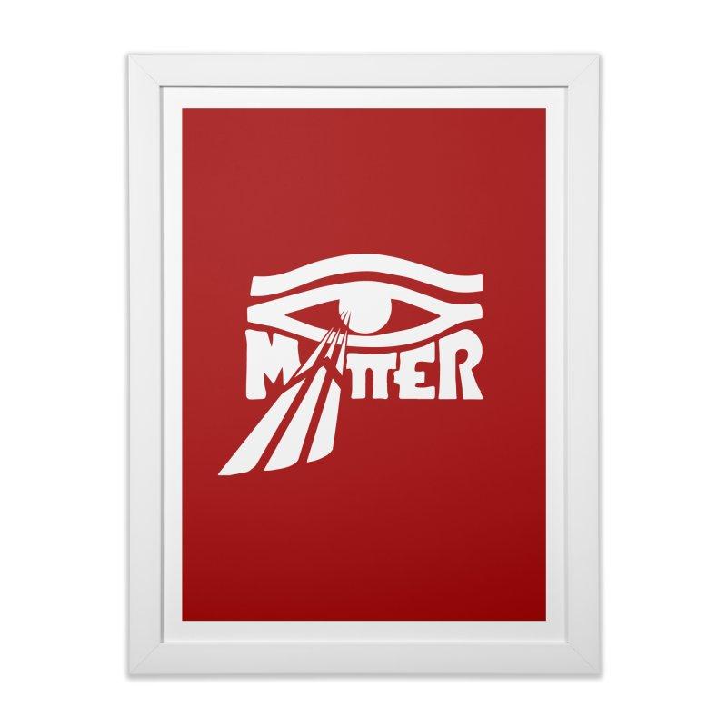 I Matter Home Framed Fine Art Print by alienmuffin's Artist Shop