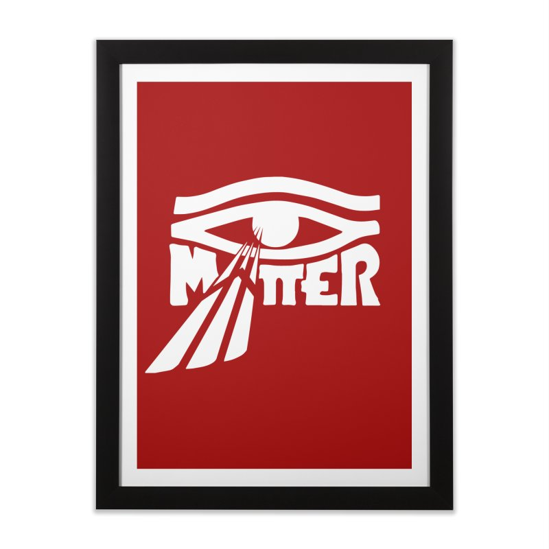 I Matter Home Framed Fine Art Print by alienmuffin's Artist Shop
