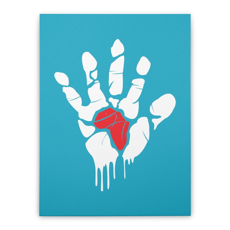 Make your Mark! Home Stretched Canvas by alienmuffin's Artist Shop