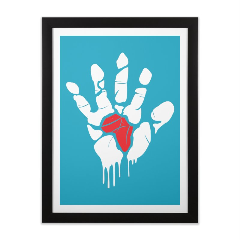 Make your Mark! Home Framed Fine Art Print by alienmuffin's Artist Shop