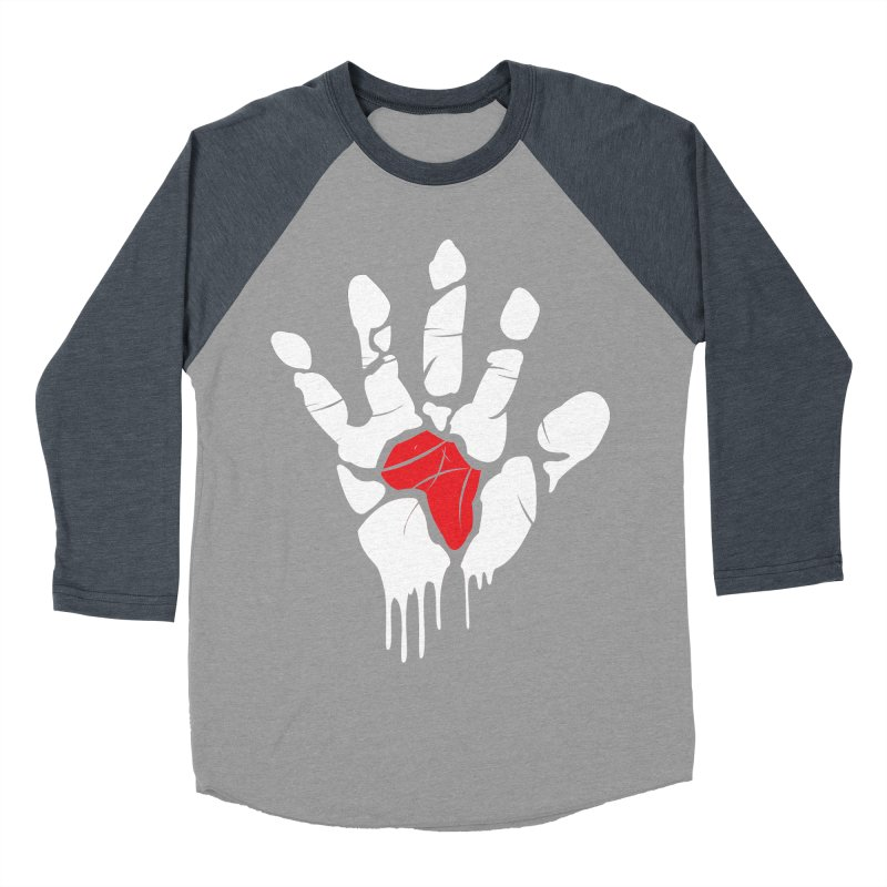 Make your Mark! Men's Baseball Triblend Longsleeve T-Shirt by alienmuffin's Artist Shop