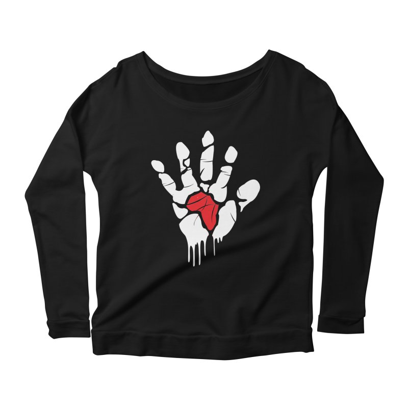 Make your Mark! Women's Longsleeve Scoopneck  by alienmuffin's Artist Shop
