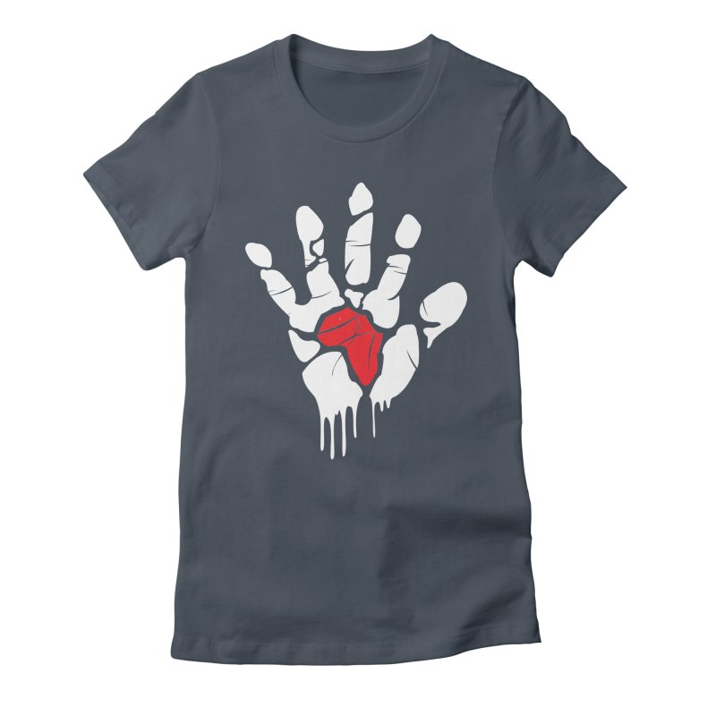 Make your Mark! Women's Fitted T-Shirt by alienmuffin's Artist Shop