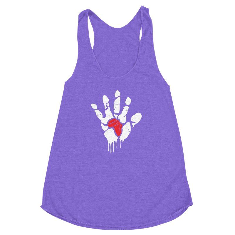 Make your Mark! Women's Racerback Triblend Tank by alienmuffin's Artist Shop