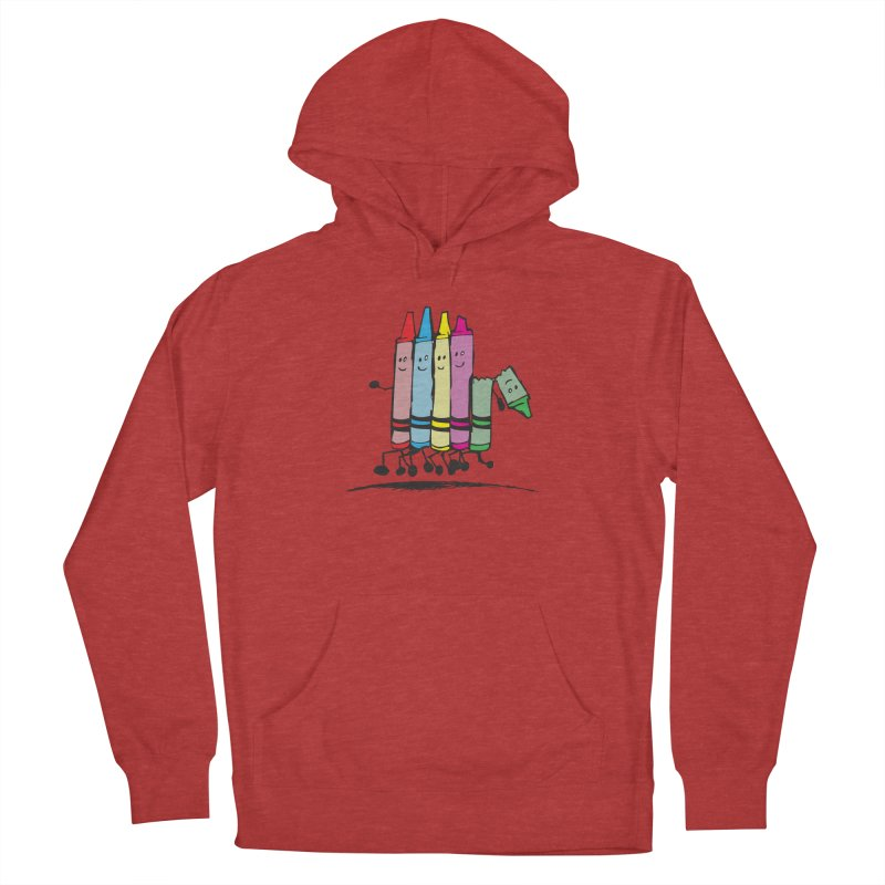 Lean on me Women's French Terry Pullover Hoody by alienmuffin's Artist Shop